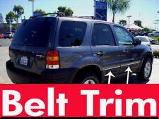Ford ESCAPE CHROME SIDE BELT TRIM DOOR MOLDING 01 02 03 04 05 06 07 2008-2012