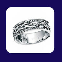 Wedding Band Sterling Silver Wedding Ring Celtic Ring
