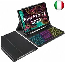 IVSO Custodia con Tastiera Italiana per iPad PRO 11 2020, Slim Custodia con 7
