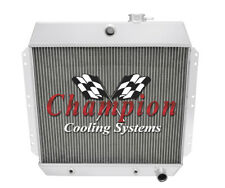 2 Row Performance Champion Radiator for 1949 - 1954 Chevrolet Cars L6 Engine