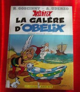 Ancien Album Astérix la Galère d'Obélix
