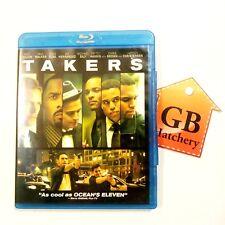 Blu-ray Movie - Takers - Bank Robbery Movie
