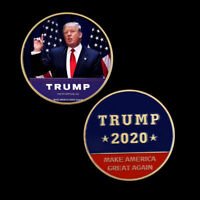 Trump Coins Collectibles Metal Coin Commemorative Currency Souvenir Gifts