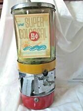 Vintage Vendorama 5 Cent Metal Gumball Machine with Key