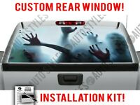 Minions Full Color Rear Window Sticker See thru MW71 Perforated Vinyl Wrap