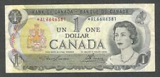 1973 *AL $1.00 BC-46aA F+ SCARCE Bank of Canada Key ASTERISK REPLACEMENT Note