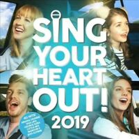 SING YOUR HEART OUT 2019 (2 CD) **NEW & SEALED**
