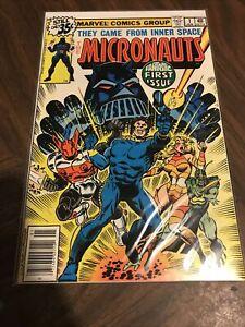 Micronauts #1 (1979) - 1st Appearance of Baron Karza & Bug - VF/NM