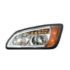 Kenworth T660 Headlights Pair LED Bar Projector chrome OE# P541059100 2008-2016