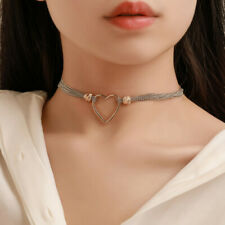 Chic Heart Shape Pendant Necklace Wedding Jewelry Romantic Gift KV
