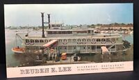 Vintage Postcard Reuben Lee Riverboat California Newport Beach