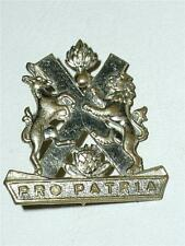 VINTAGE POST WW2 'SOUTH AFRICAN DEFENCE FORCE' (SADF) PRO PATRIA BADGE!