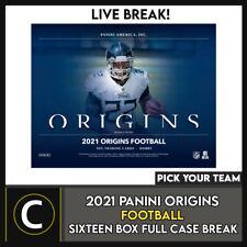 2021 PANINI ORIGINS футбол 16 коробка (полный чехол) перерыв #F803 — выбирайте свою команду