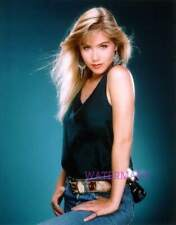 GORGEOUS ACTRESS CHRISTINA APPLEGATE YOUNG HAIR BLOWING PRETTY PUBLICITY PHOTO