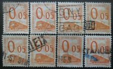 FRANCE Petit Colis N°31 X 8 oblitéré