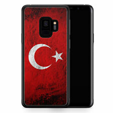 Samsung Galaxy S9 Hülle SILIKON Cover - Türkei Splash Flagge Türkiye Turkey - M