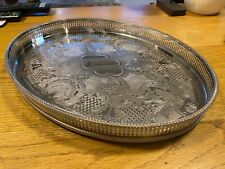 Arthur Price Large Antique Silver Plated Tray