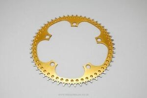 53t Unbranded Drilled Vintage Chainring - Classic Road Chainwheel