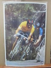 Vintage 1973 Poster Cross Country cycling bicycle bike racing Inv#G555