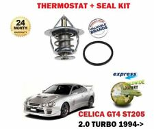FOR TOYOTA CELICA GT4 2.0 TURBO 1994-1999 NEW THERMOSTAT + SEAL KIT