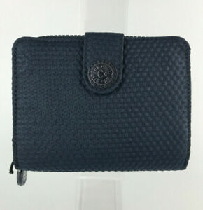 KIPLING Card & Photo ID Wallet with Coin Purse Small Docs Holder Womens