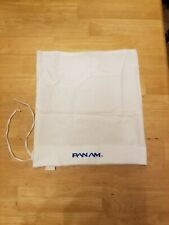 Pan Am Panam Airline Vintage Cinch Bag Pillowcase Waste Cloth Laundry