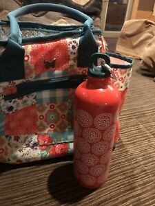 Pioneer Woman Insulated Lunch Bag With Water Bottle