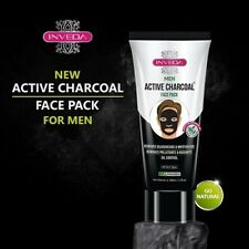 Inveda Men Active Charcoal Face Pack 100 ml Free Shipping