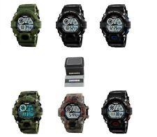 Reloj Pulsera Temporizador Digital Impermeable Militar Deportivo De Alarma LED Multifunción