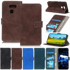 Crocodile Wallet Leather Flip Cover Case For LG K92 K52 K42 K31 K22 K51 K41s K62