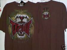 Tapout MMA Brown King Lion Shirt Boys Size Large 14 / 16 NWT  #14