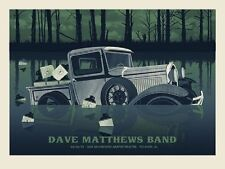 Dave Matthews Band Poster 2013 Pelham AL Signed & Numbered #/725 Rare!!