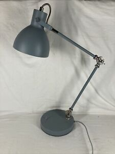 Metal Angled Table / Desk Lamp, from TJX, LTD. ( Grey )