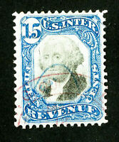 US Stamps # R110 Revenue XF Choice Used Scott Value $100.00