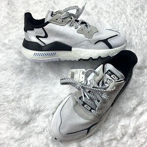 Adidas MEN'S ORIGINALS NITE JOGGER STAR WARS Storm Trooper White FW2287 Size 8