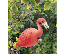 Decorative Birdhouses - Flamingo Birdhouse - Hand Painted Wood -Se0034