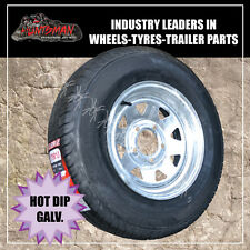 13 x 4.5 175 Sunraysia Wheel Rim & Tyre suits Ford Galvanised Trailer Boat