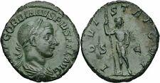 Gordianus III Pius sestercio Roma 241-243 Iovi statori S-C Júpiter cetro Ric 298a