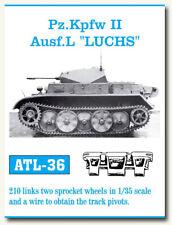 Friulmodel ATL-36 Metal Tracks for 1/35 Panzer II Ausf.L Luchs (210 links)