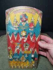 Vintage Pinball Bagatelle Game Rare old toy Marx