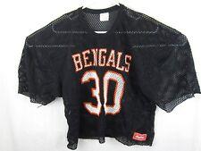 Vtg Cincinnati Bengals Mesh Football Crop L/XL Rawlings Practice Jersey Ickey 30