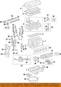 Pontiac GM OEM 09-10 Vibe-Engine Cylinder Head Gasket 19185146