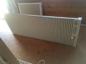 EVO Elektroheizung FL 2500 gebraucht b=156cm h=63cm