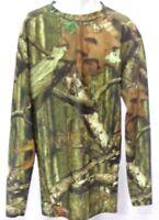 Starter Hunting Camoflauge Men's Compression Dri Fit Shirt Long Sleeve Camo