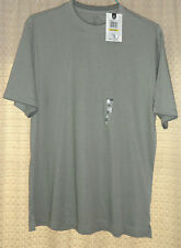 NWT VAN HEUSEN M Green Cotton Knit Pullover Shirt Sport Athletic Casual MSRP $30