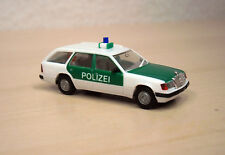 "Herpa - Mercedes-Benz 300 TE (S 124 Mopf 1) ""Polizei"" - Nr. 041638 - OVP - 1:87"
