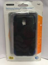 OtterBox COMMUTER Case for Samsung Galaxy SII Skyrocket - Black/Blue NEW