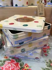 Emma Bridgewater Polka For Baking Range - Cookie Cutters In Tin