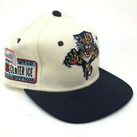 Vintage Florida Panthers Sports Specialties Fitted Hat Front Logo Back Script