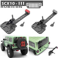 Spare Tire Rack Base Brake Light Kits for 1/10 AXIAL SCX10 III JEEP RC Crawler